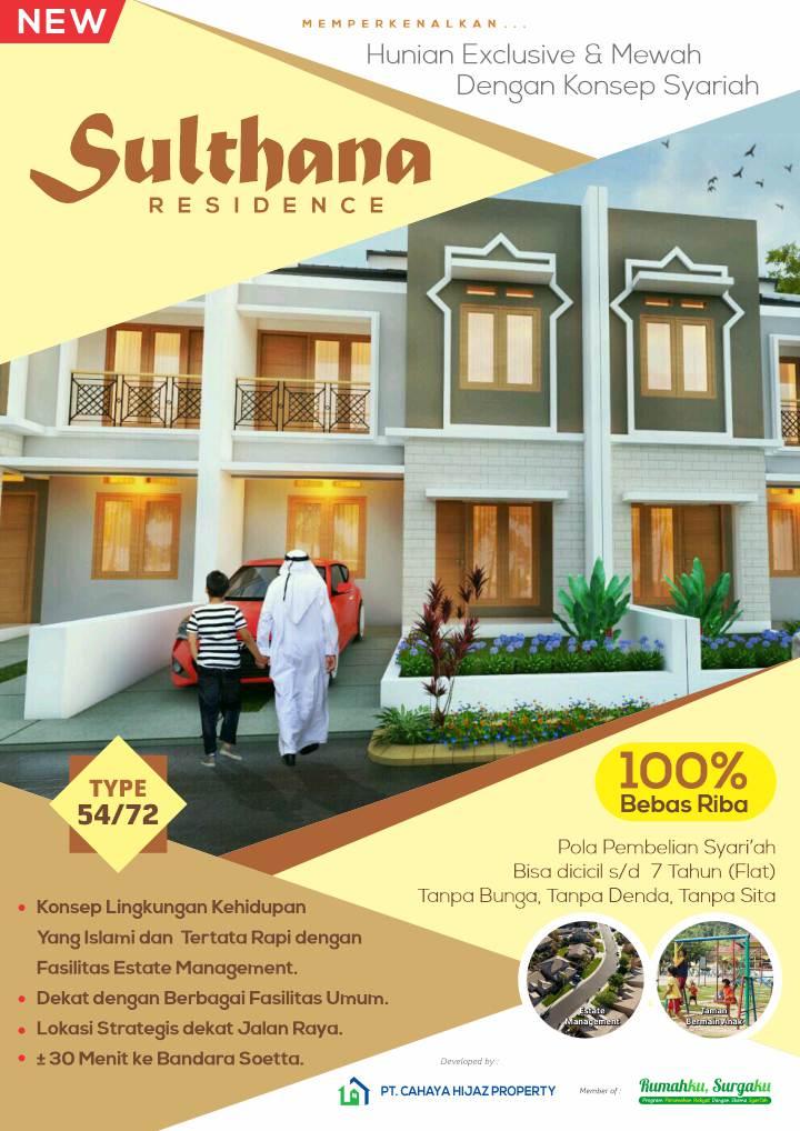 flyer depan_Sulthana Residence