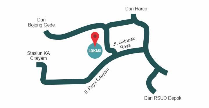 lokasi_Griya Samawa Citayam 30-60