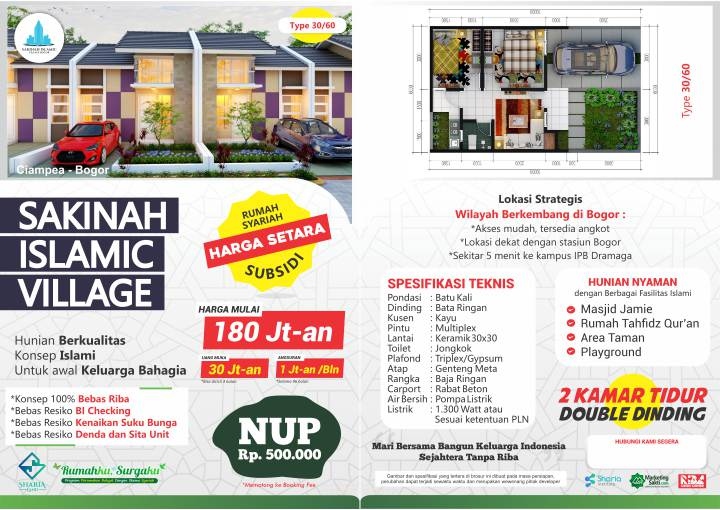 Flyer Sakinah Islamic Village