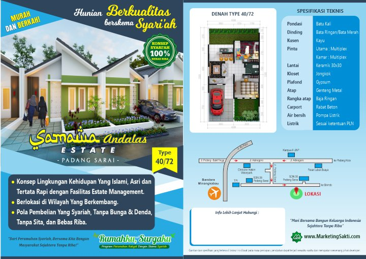 Samawa Andalas Estate Flyer