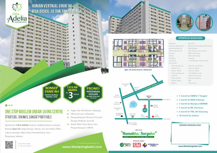Apartemen Syariah Citra Adelia