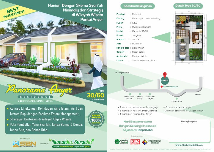 flyer Panorama Anyer Residence